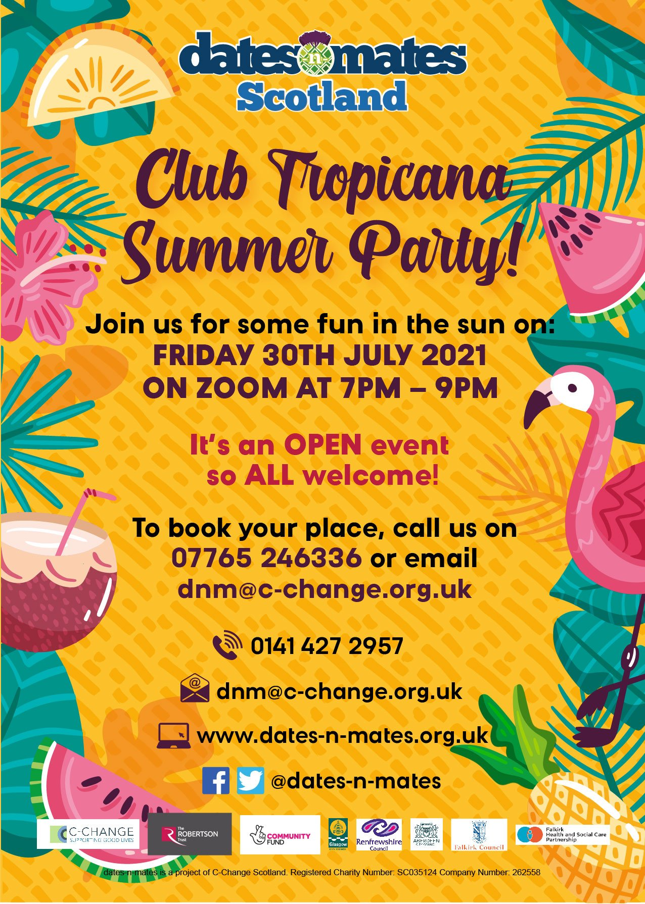 DnM Club Tropicana Poster